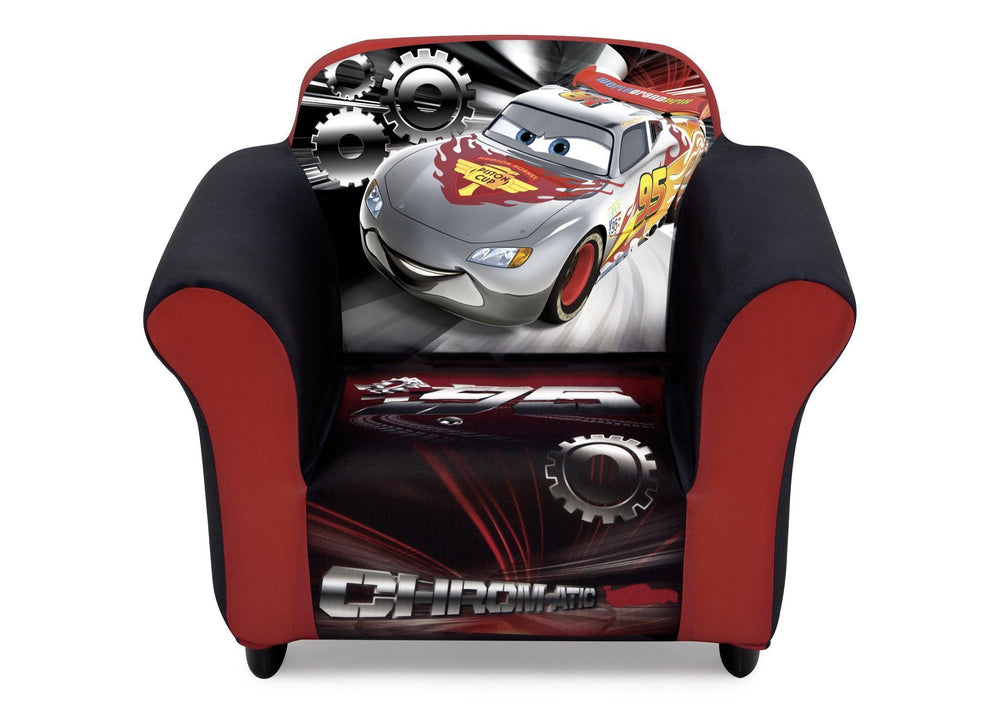 Delta Children Cars Upholstered Chair, Front View