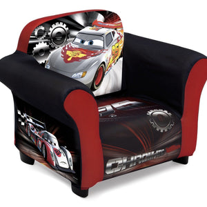 Delta Children Cars Upholstered Chair, Right View a1a