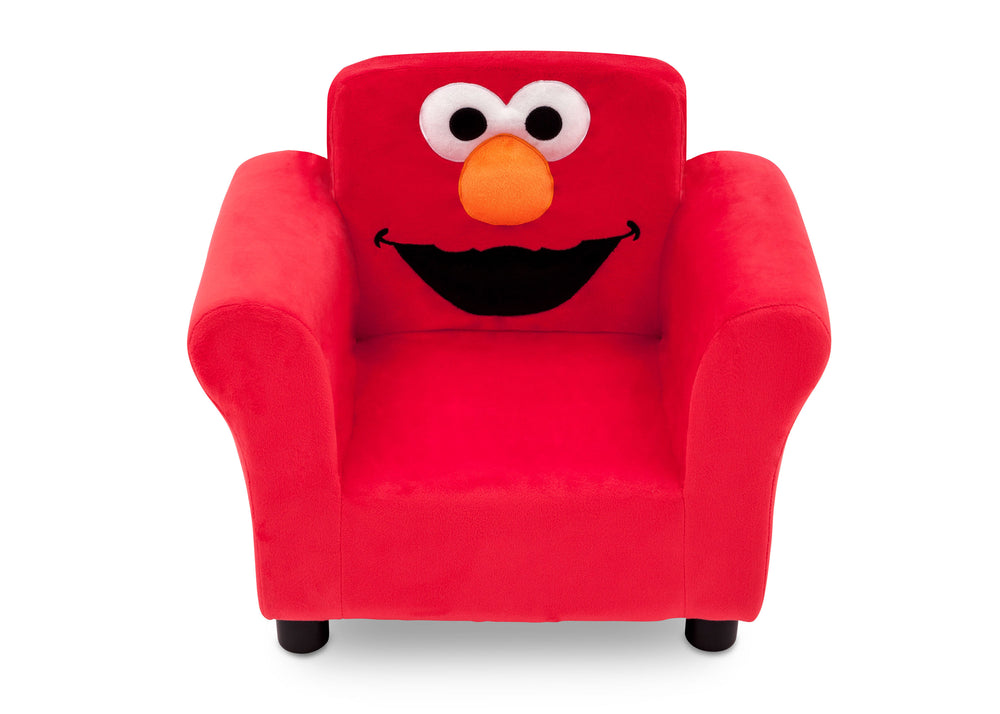 Delta Children Elmo Upholstered Chair, Front View a3a