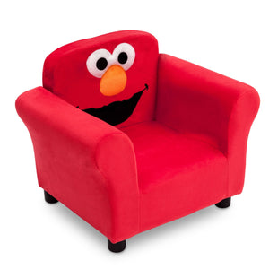 Delta Children Elmo Upholstered Chair, Right View a1a