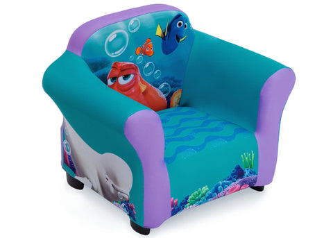 Disney/Pixar Finding Dory Upholstered Chair (with Sculpted Plastic Frame)