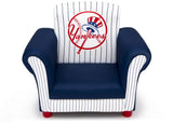 Delta Children New York Yankees Upholstered Chair, Front view a3a