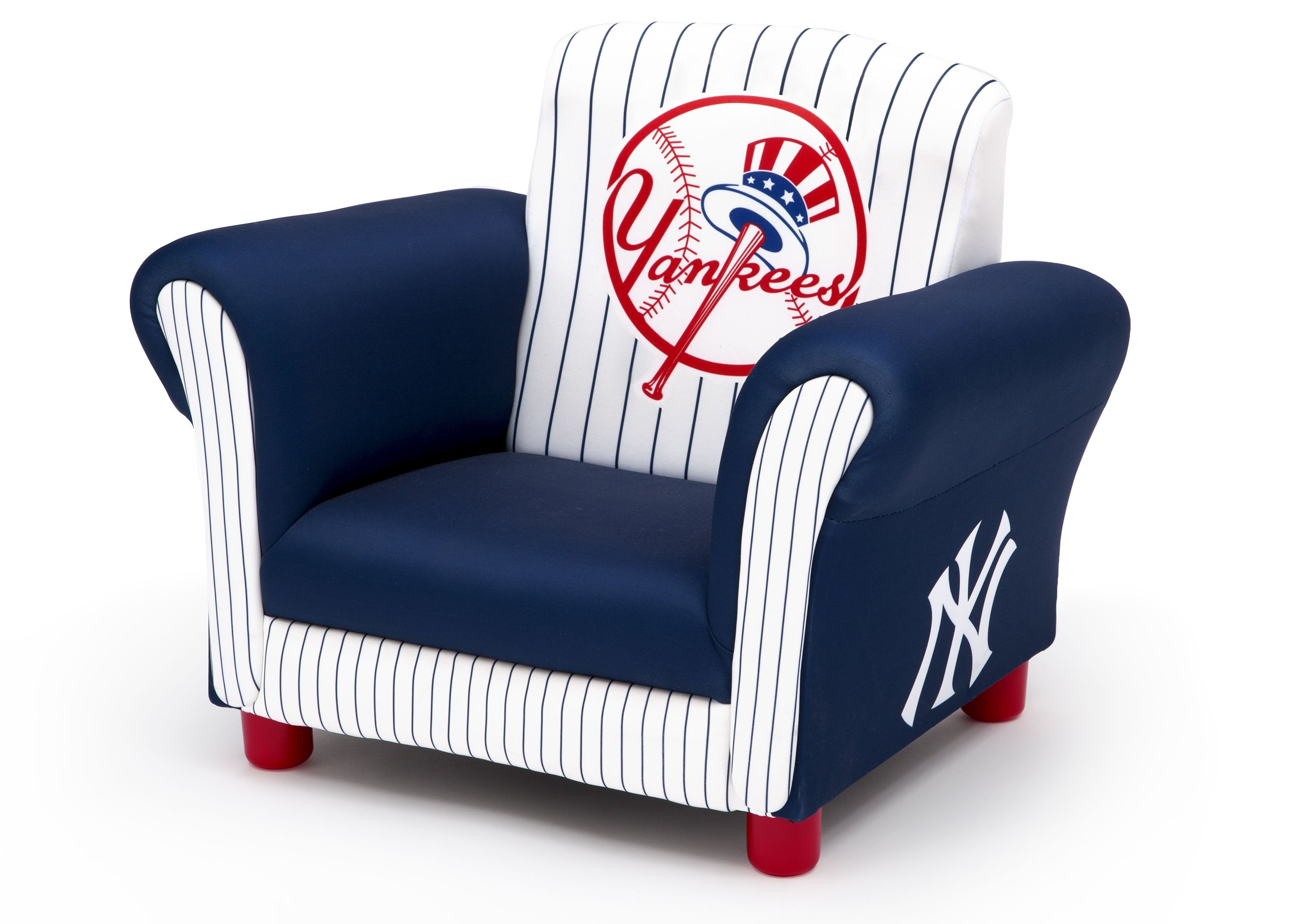 ... Delta Children New York Yankees Upholstered Chair, Left View A2a ...