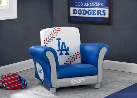 Los Angeles Dodgers Kids Upholstered Chair