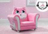 Delta Children Cozy Kitten Chair, Hangtag View