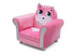 Delta Children Cozy Kitten Chair, Left Silo View
