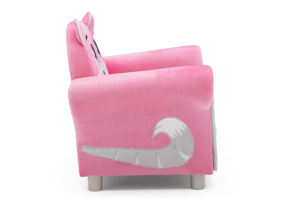 Delta Children Cozy Kitten Chair, Right Side View