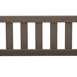 Delta Children Textured Pebble Grey (1341) Toddler Guardrail W0060 Front View a1a