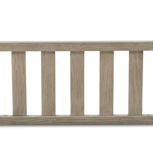 Delta Children Textured Limestone (1340) Toddler Guardrail W0061, Front Silo View