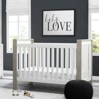 Miles 4-in-1 Convertible Baby Crib