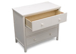Middleton 3 Drawer Dresser (Textured White)