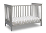 Delta Children Grey (026) Adley 3-in-1 Crib (W102130) Daybed a5a