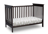 Delta Children Dark Chocolate (207) Adley 3-in-1 Crib (W102130) Daybed Conversion c5c