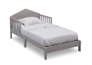 Delta Children Grey (026) Homestead Toddler Bed Right Silo View