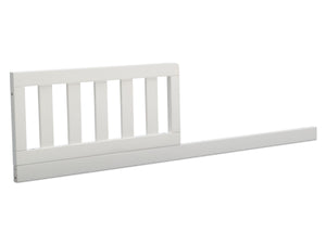 Delta Children Bianca White (130) Daybed/Toddler Guardrail Kit (W102725), Toddler Bed Rail Right Facing, b2b