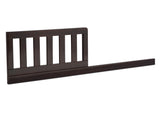 Delta Children Dark Chocolate (207) Daybed/Toddler Guardrail Kit (W102725), Toddler Bed Rail Right Facing, c2c