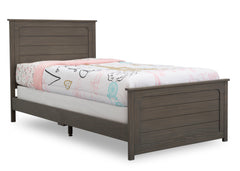 Delta Children Aged Grey (1337) Harvest Farmhouse Twin Bed (W103270), Right Silo b2b