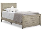 Delta Children Aged White (1336) Harvest Farmhouse Twin Bed (W103270), Right Silo a2a