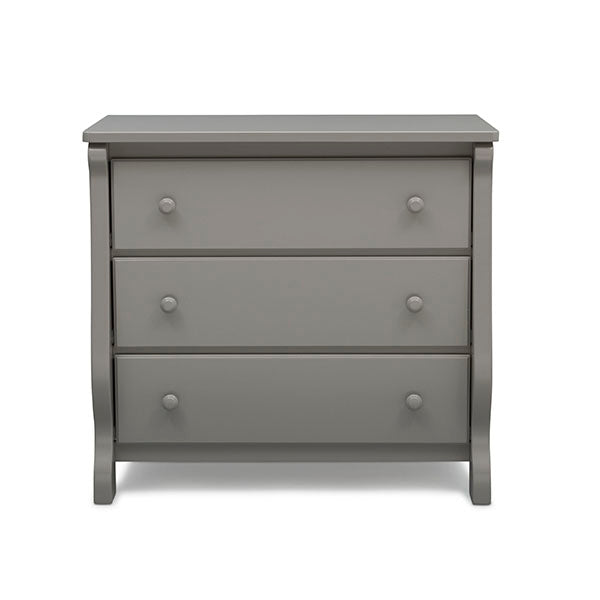 Universal 3 Drawer Dresser (Grey)