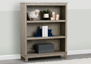 Delta Children Textured Limestone (1340) Farmhouse Bookcase/Hutch
