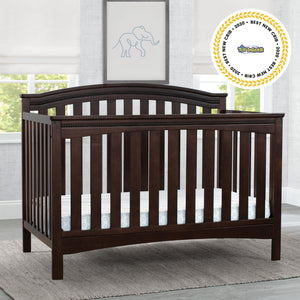 Waverley 6 in 1 Convertible Crib Walnut Espresso 1324