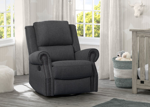 Drake Nursery Recliner Swivel Glider Chair