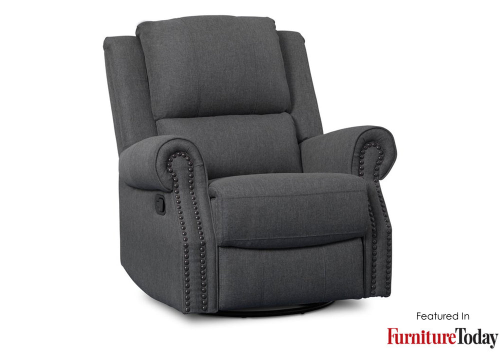 Dexter Nursery Recliner Swivel Glider Chair Delta Children