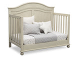 Simmons Kids Antique White (122) Bedford 4-in-1 Convertible Crib (W337150) Day Bed, a5a
