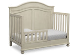 Simmons Kids Antique White (122) Bedford 4-in-1 Convertible Crib (W337150), Toddler Bed, a4a