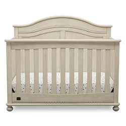 Bedford 4-in-1 Convertible Crib (Antique White)