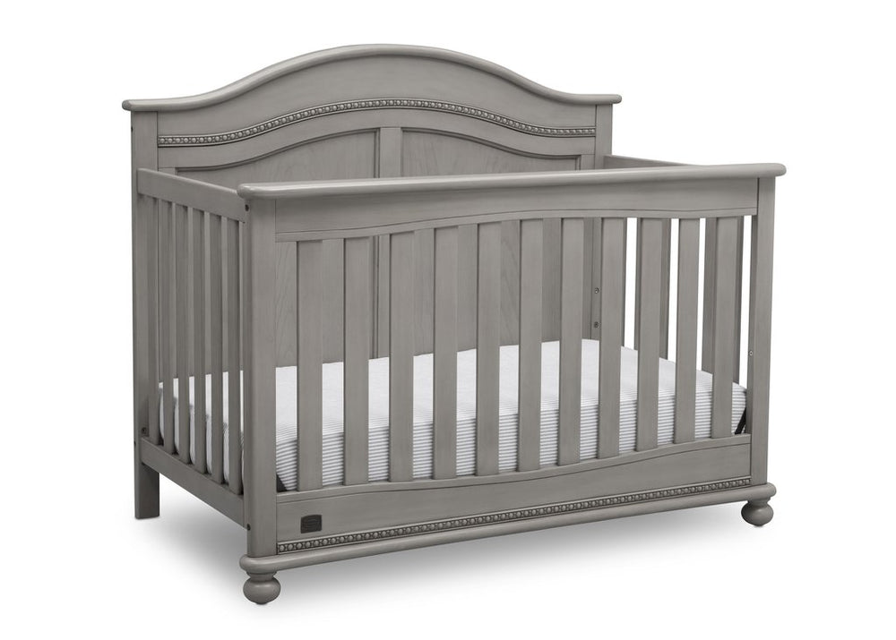 Simmons Kids Storm (161) Bedford 4-in-1 Convertible Crib (W337150) Right Silo, b3b