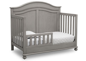 Simmons Kids Storm (161) Bedford 4-in-1 Convertible Crib (W337150), Toddler Bed, b4b