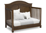 Simmons Kids Antique Chestnut (2100) Bedford 4-in-1 Convertible Crib (W337150), Day bed, c5c