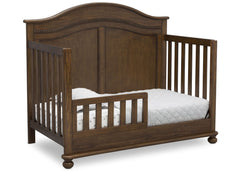 Simmons Kids Antique Chestnut (2100) Bedford 4-in-1 Convertible Crib (W337150), Toddler Bed, c4c
