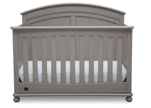 Simmons Kids Storm (161) Ainsworth 4-in-1 Convertible Crib (W337250), Front Silo, b2b