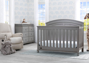 Simmons Kids Storm (161) Ainsworth 4-in-1 Convertible Crib (W337250), Room View, b1b