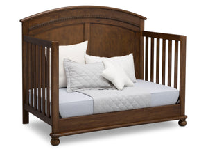 Simmons Kids Antique Chestnut (2100) Ainsworth 4-in-1 Convertible Crib (W337250), Day Bed Conversion, c5c