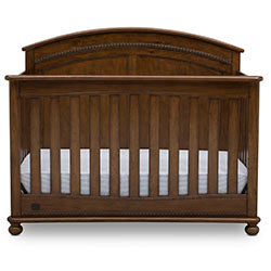 Ainsworth 4-in-1 Convertible Crib (Antique Chestnut)