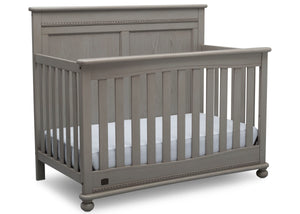 Delta Children Storm (161) Fontana 4-in-1 Convertible Crib (W337350) Right Facing Silo, b3b