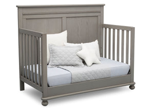 Delta Children Storm (161) Fontana 4-in-1 Convertible Crib (W337350) Day Bed Conversion, b5b