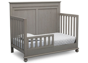 Delta Children Storm (161) Fontana 4-in-1 Convertible Crib (W337350) Toddler Bed Conversion, b4b