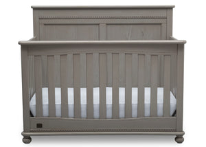 Delta Children Storm (161) Fontana 4-in-1 Convertible Crib (W337350) Front Facing Silo, b2b