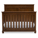 Fontana 4-in-1 Convertible Crib (Antique Chestnut)
