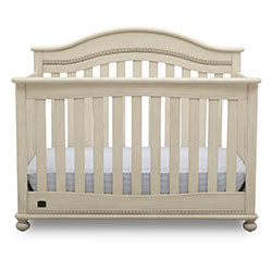 Bristol 4-in-1 Convertible Crib (Antique White)