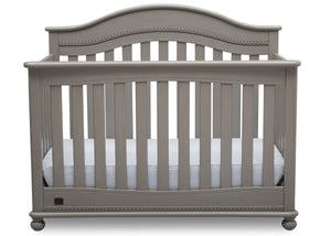 Delta Children Storm (161) Bristol 4-in-1 Convertible Crib (W337450) Front Facing Silo, b2b