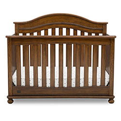 Bristol 4-in-1 Convertible Crib (Antique Chestnut)