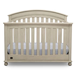 Aden 4-in-1 Convertible Crib (Antique White)
