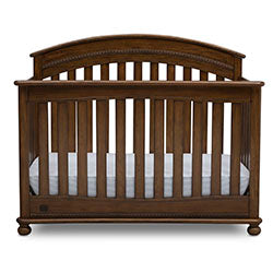 Aden 4-in-1 Convertible Crib (Antique Chestnut)