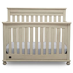 Franklin 4-in-1 Convertible Crib (Antique White)