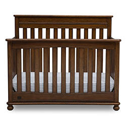 Franklin 4-in-1 Convertible Crib (Antique Chestnut)